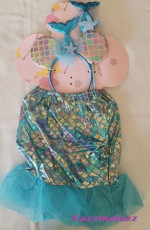 Baby Mermaid Costume Set