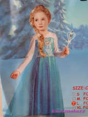 Frozen Princess Blue