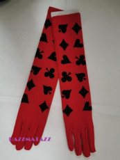 Casino Gloves Red
