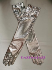 Gloves - Silver Extra Long