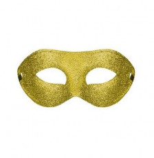 Gold Plain Venetian Mask