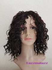 Quality Michelle Burgundy Wig