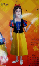 Girls Snow White dress